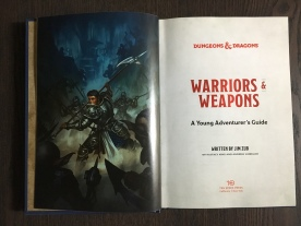 Warriors & Weapons - Inside Cover