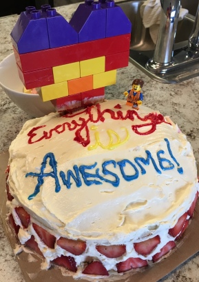 Everything is Awesome Cake
