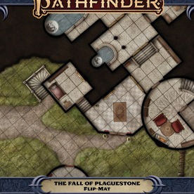 Pathfinder Flip-Mat - Fall of Plaguestone