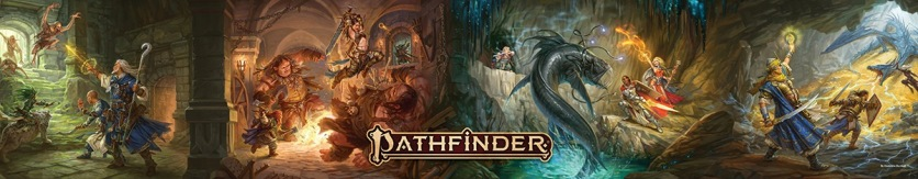 Pathfinder Landscape GM Screen Art