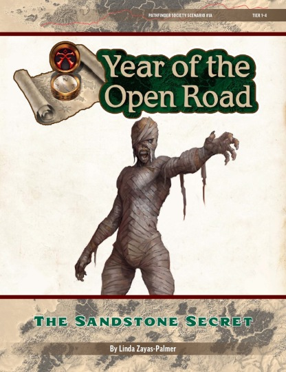PFS Quest 1A - The Sandstone Secret