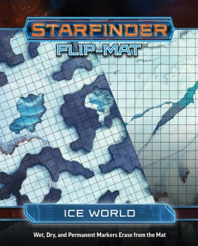 Starfinder Flip-Mat - Icy World