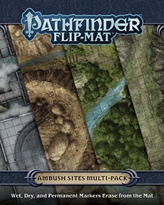 Pathfinder Flip-Mat - Ambush Sites Multi-Pack
