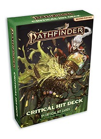 Pathfinder 2e Critical Hit Deck