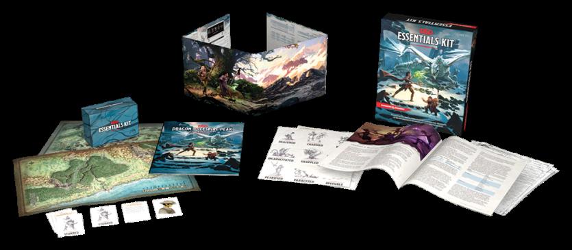 D&D Essential Kit Contents