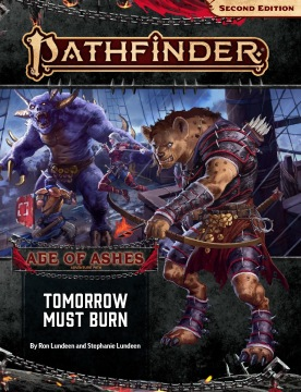 Tomorrow Must Burn (Age of Ashes 3 of 6)