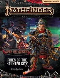 Fires of the Haunted City (Age of Ashes 4 of 6)