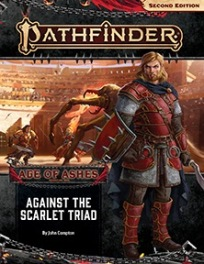 Against the Scarlet Triad (Age of Ashes 5 of 6)